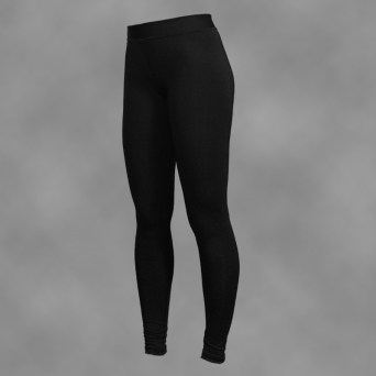 legginsy damskie BLACK-SIMPLE
