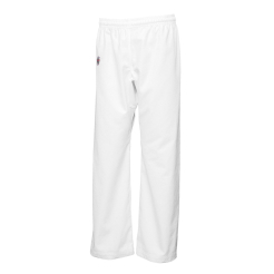 spodnie karate LIGHT-ELASTIC-WHITE długie