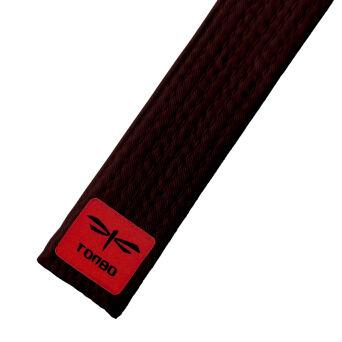 6f3a486f68785 pas brązowy basic (4cm, bawełna)